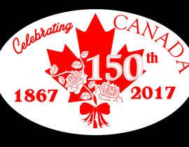 #17 for CANADA 150 Sticker design by freeland972