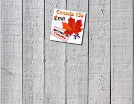nº 16 pour CANADA 150 Sticker design par Iliuk