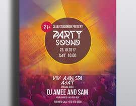 nº 5 pour Need a party flyer / poster / facebook timeline par joymarma11