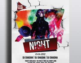 nº 8 pour Need a party flyer / poster / facebook timeline par joymarma11