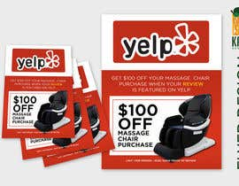nº 94 pour FAST WORK - EASY MONEY - Design a Yelp Promotional Flyer par KahelDesignLab