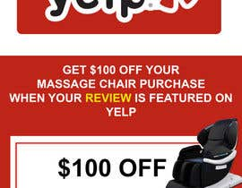 nº 59 pour FAST WORK - EASY MONEY - Design a Yelp Promotional Flyer par DeltaMachine