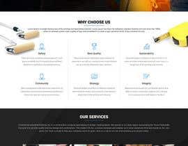 Nro 46 kilpailuun Design a Website Mockup for Commercial Builders käyttäjältä akminfo