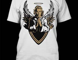 nº 45 pour T-Shirt Design:  Catholic Saint Michael the Archangel par Bashar20