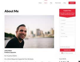 nº 4 pour I need some form widget designed for my website sidebar par shrujalgoswami