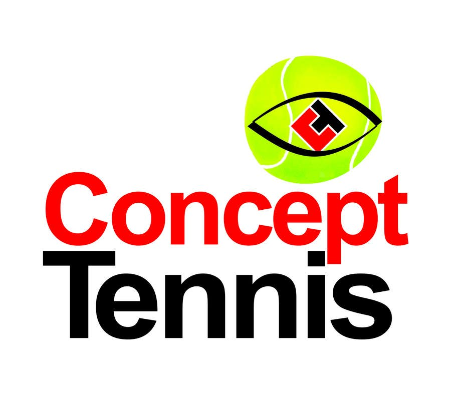 Kilpailutyö #484 kilpailussa Logo Design for ConcepTennis