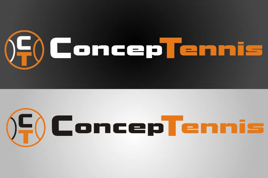 Kilpailutyö #342 kilpailussa Logo Design for ConcepTennis