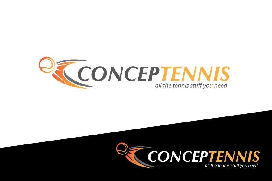 Kilpailutyö #416 kilpailussa Logo Design for ConcepTennis