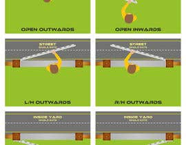 nº 3 pour Bird eye infographics par prngfx