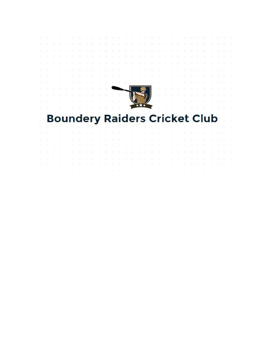 Proposition n°30 du concours Design a Logo for a Cricket team