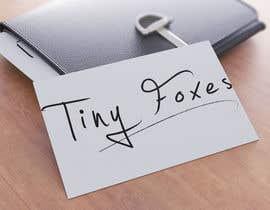 nº 61 pour Desing TinyFoxes Logo par hafiz62