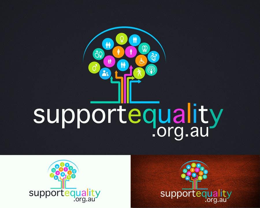 Конкурсная заявка №121 для Logo Design for Supportequality.org.au