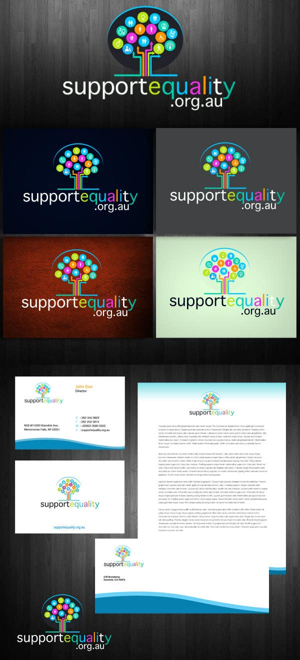 Конкурсная заявка №120 для Logo Design for Supportequality.org.au