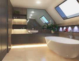 nº 41 pour Design a modern bathroom par nhitran3dartist