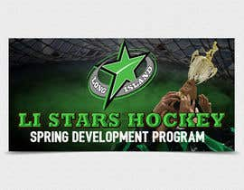 nº 122 pour Hockey team spring program advertizing Banner  8'X4' par TDuongVn