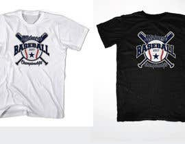 nº 56 pour Baseball Tournament Tee Shirt Designed par lickerantony182
