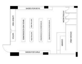 nº 1 pour To Make A store layout by Autocad par EchoManalo