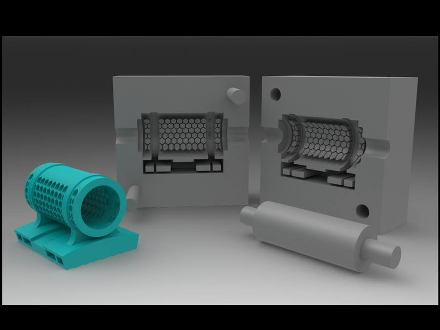 Proposition n°12 du concours Retrofit product design for easy injection molding manufacturing