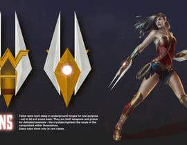 #48 for Design a New Weapon for Wonder Woman by astakhovalexalex