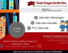 #22 untuk Design a Banner Pusat Tuisyen Cerdik Ilmu oleh ainfatihah22