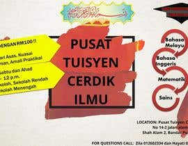 #12 untuk Design a Banner Pusat Tuisyen Cerdik Ilmu oleh FatinNabilaAli