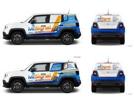 nº 22 pour Vehicle design wrap par rozq