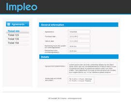 #35 untuk Website Design for Impleo - serviceagreements oleh tanduaytagay