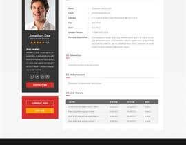 nº 10 pour Design a Website Mockup par matthewfariz