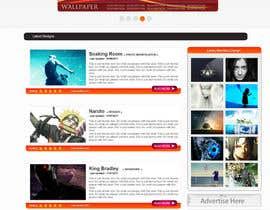 nº 1 pour Design a Website Mockup par Atiqurrehman161
