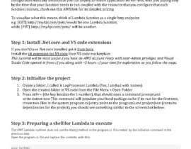 nº 4 pour I need a Visual Studio AWS Lambda C# developer par chavdarajanj
