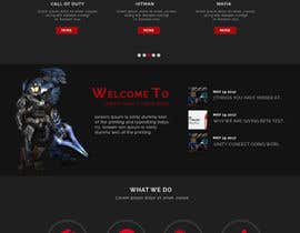 nº 27 pour Design a Website Mockup for Dream Game Studio par gur516
