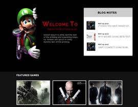 nº 29 pour Design a Website Mockup for Dream Game Studio par gur516