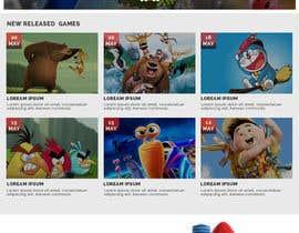 nº 30 pour Design a Website Mockup for Dream Game Studio par gur516