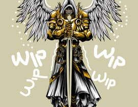 nº 20 pour Design an Angel Warrior T-Shirt par kaliuser54