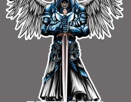 nº 25 pour Design an Angel Warrior T-Shirt par kaliuser54