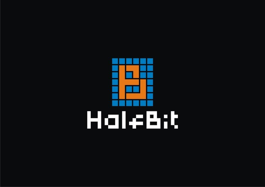 #571 for Logo Design for HalfBit by vidyag1985