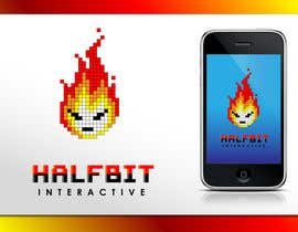 nº 470 pour Logo Design for HalfBit par Glukowze