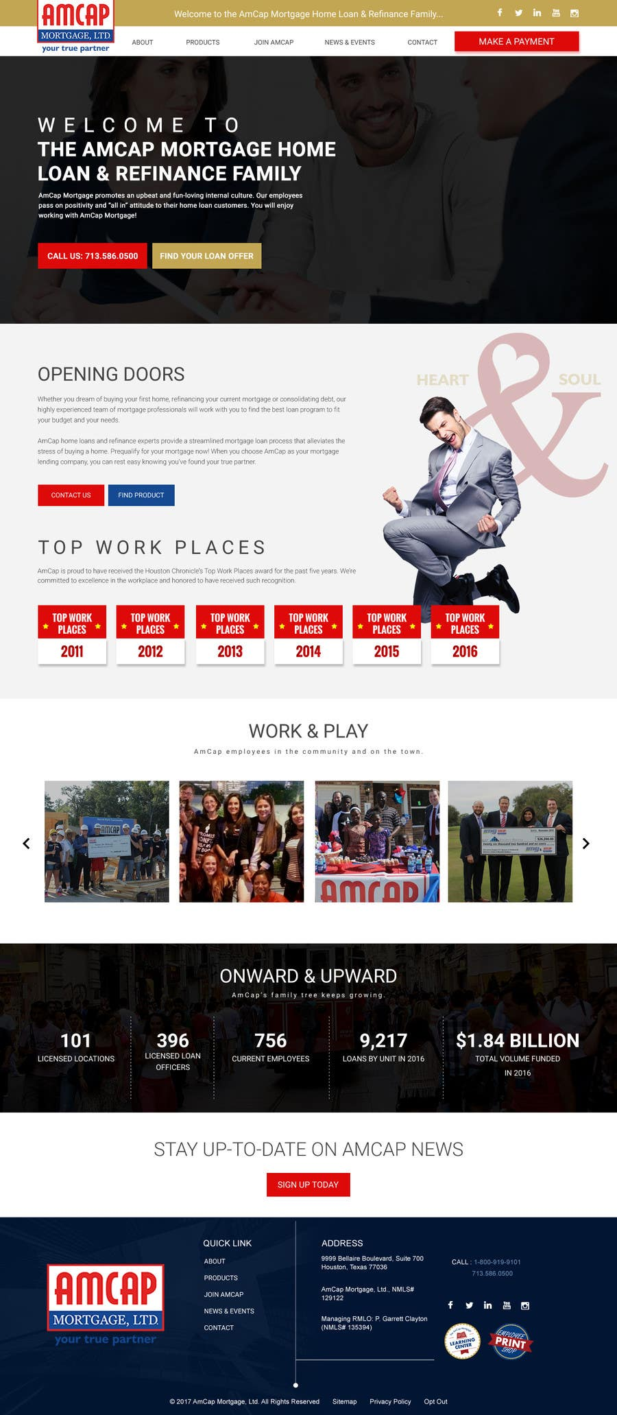 Proposition n°15 du concours Design a Website Mockup - HOMEPAGE ONLY - for a Mortgage Company
