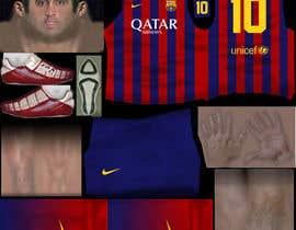 nº 8 pour Create 32 texture files for football kits (PNG) par justice92