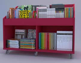 nº 16 pour Do photo realistic render of book display par EW3Architecture