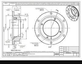 nº 3 pour I need a 3D model WITH measurements next to it par Prikshit2256