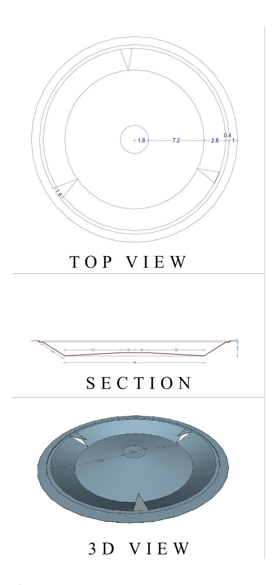 Proposition n°3 du concours 3D design with meassurements