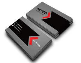 nº 88 pour Design some Business Cards for Mitico par rajiyalata