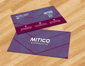 nº 93 pour Design some Business Cards for Mitico par mrmridha1