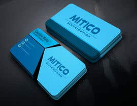 nº 127 pour Design some Business Cards for Mitico par durlavbala