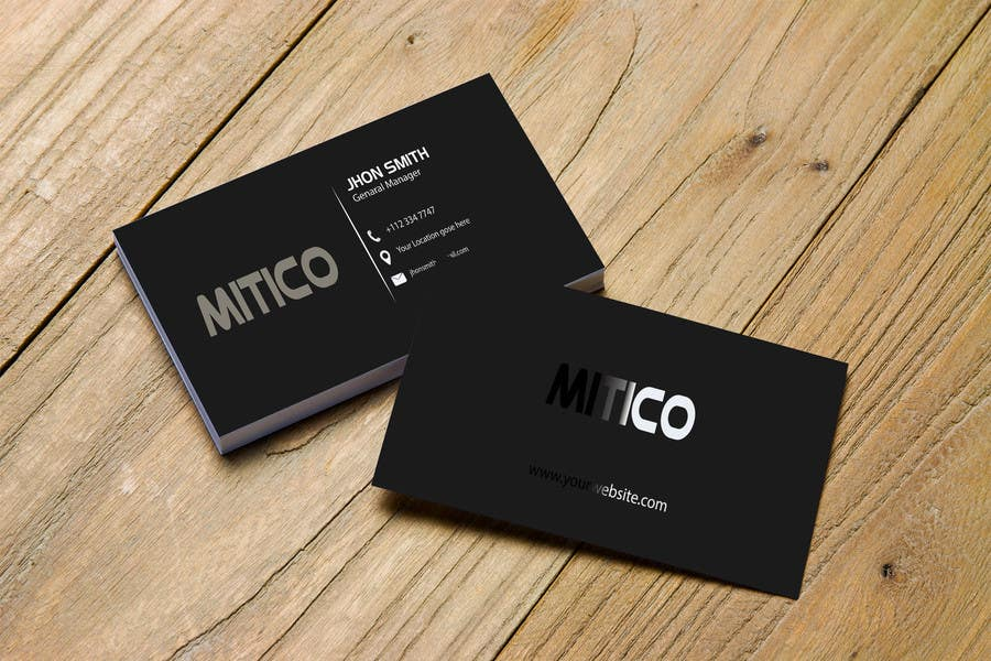 Proposition n°115 du concours Design some Business Cards for Mitico
