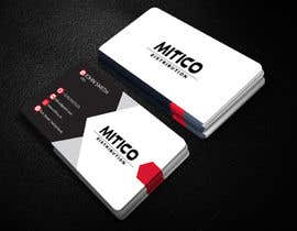 nº 128 pour Design some Business Cards for Mitico par sujatasuja