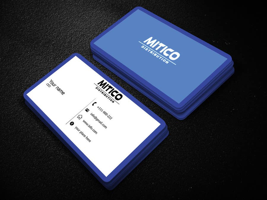 Proposition n°126 du concours Design some Business Cards for Mitico