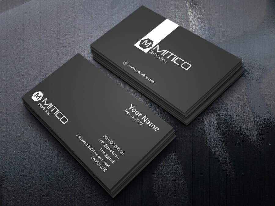 Proposition n°124 du concours Design some Business Cards for Mitico