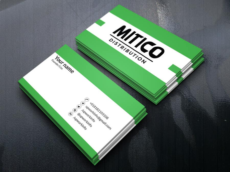 Proposition n°111 du concours Design some Business Cards for Mitico
